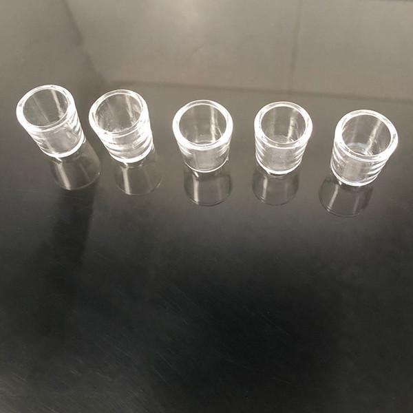 Quartz Bowl, 3-Pack Replacement Ceramic Bowl Glass Attachment Cap Accessory for Puffco Peak Quartz Concentrate Insert