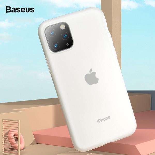 Baseus Telefon Kılıfı Için iPhone XI Pro Max Lüks Yumuşak Sıvı Silikon Arka Kapak iphone 11 XIR Max 2019 Durumda Coque Fundas Çapa