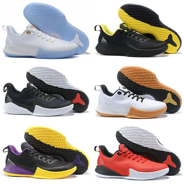 2019 Kobe Mamba Focus EP Big Stage Lakers Purple Yellow Ice Blue Basketball Shoes High quality Men Training KB Kids Sports Sneakers