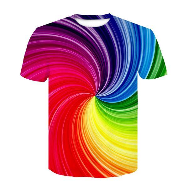 2019 impression 3D T-shirt haut autre bain à remous hommes T-shirt nouveau design personnalité de la mode casual T-shirt col rond Ypf315
