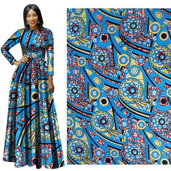 new suit African fabric batik print Fashion High Quality Wax Cotton Hollandais Fabric Wax African Fabric Batik Fabrics for dress suit