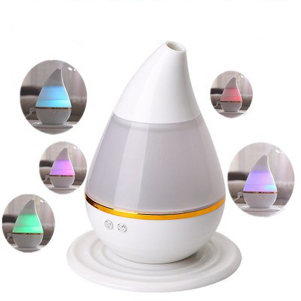 USB LED Air Humidifier Incense Burners Essential Oil Ultrasonic Aroma therapy Diffuser Mini Air Humidifier 250ML ZZA1178