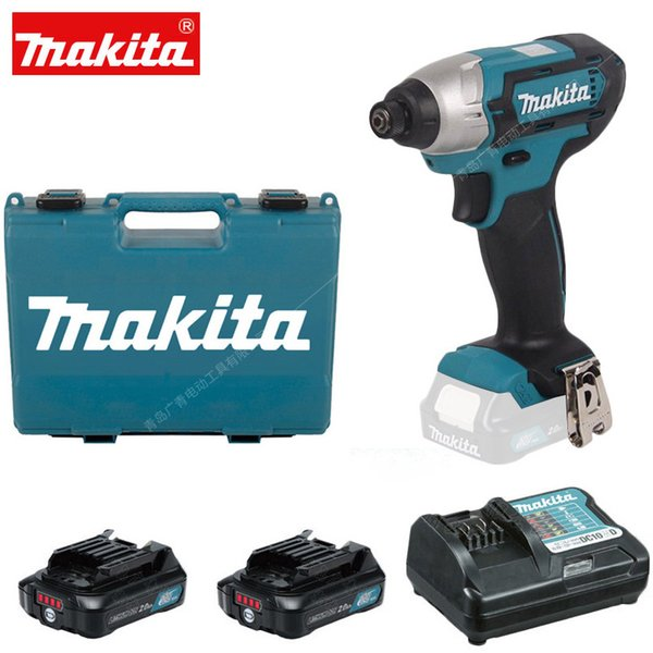 Yeni Japonya Makita TD110DWAE Şarj Edilebilir Tornavida Elektrikli Tornavida 12 V Çift Lityum Pil 110N.m 3500ipm 2600 rpm