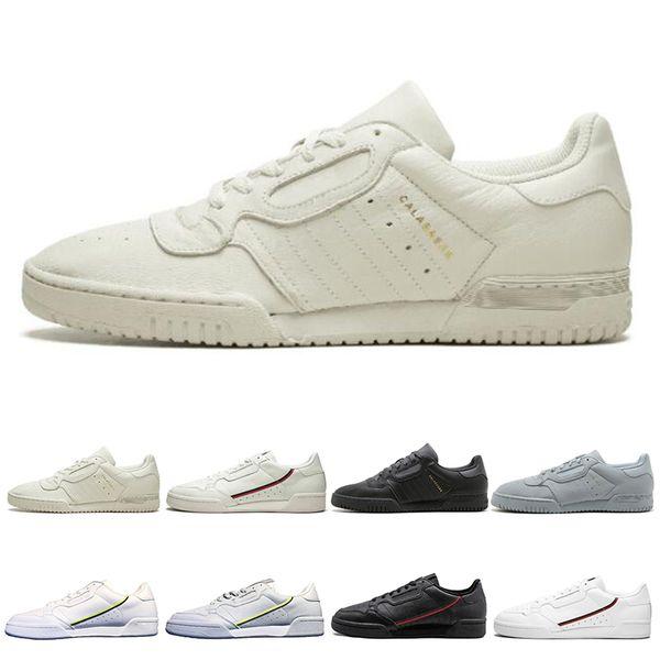 Acheter Adidas Calabasas Nouveau Calabasas Powerphase Grey Continental 80 Chaussures De Sport Kanye West Aero Bleu Core Noir OG Blanc Femmes