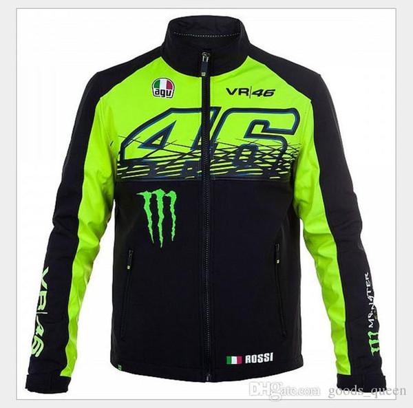 2019 Yeni sonbahar ve kış motosiklet sürme sıcak polar kazak yarış takım elbise MOTO G / P Batı ceket erkek 003