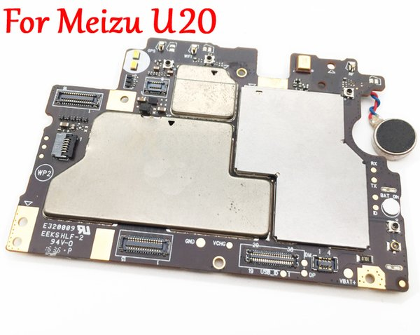 Full Work Unlock Mobile Electronic Panel Motherboard Circuits Flex Cable For Meizu U20 MB Plate Tested