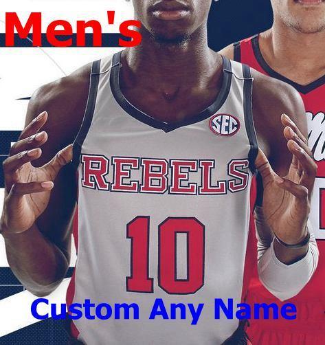 Mens Gray Rebels