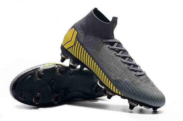 16afa4531 2018 Mens Mercurial Superfly VI 360 Elite Ronaldo FG CR soccer shoes Always  Forward football boots