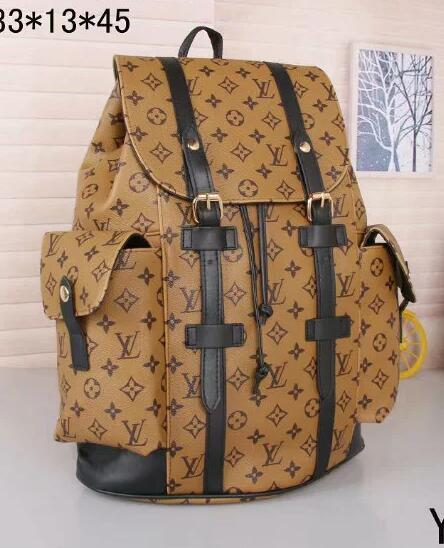 A A A 2019 Designer Fashion brand Luxury Handbags Women Shoulder Bags Leather Handbag backpack Ladies Hand Held Package