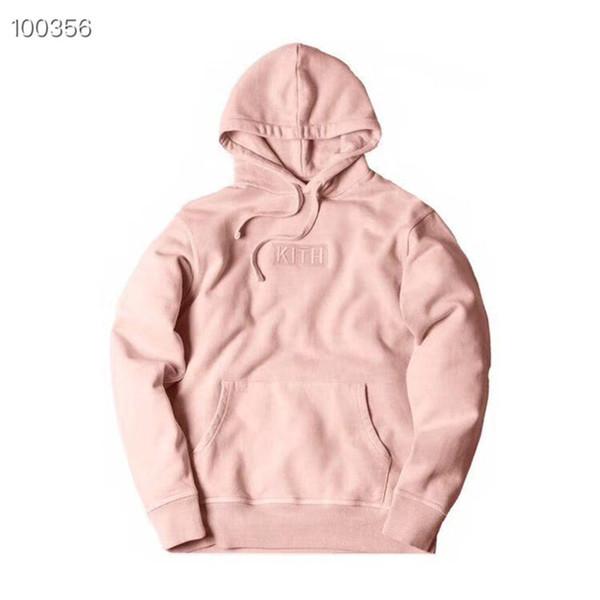 BOX LOGO Stickerei KITH HOODIE Männer WomenBest Quality KITH Tom Lässige Pullover Sweatshirts