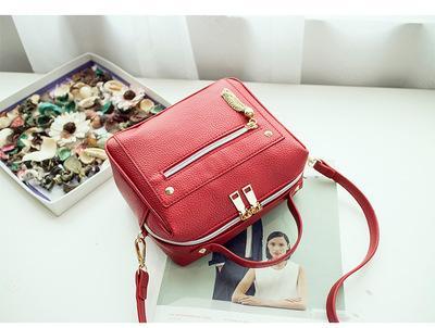 Europe And America Brand B1075 Women's Handbag Fashion Women Messenger Bag Rivet Single Shoulder Bag High Quality Female Bag286