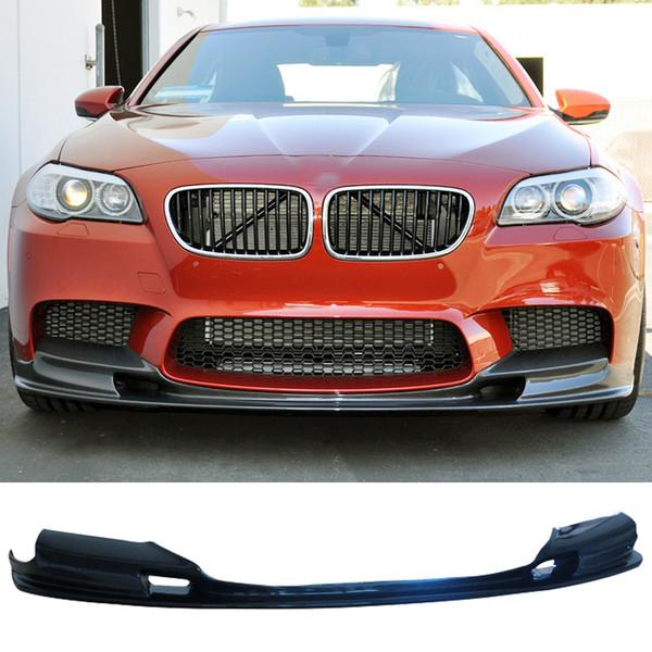 Spoiler de labio frontal de fibra de carbono estilo 3D serie 5 F10 M5 solo apto para BMW
