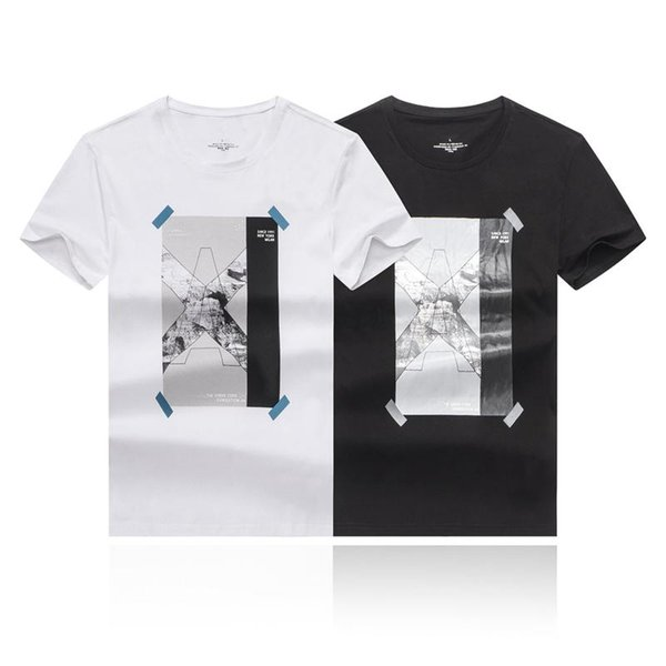 Yeni Yaz erkek Monogrammed Koleksiyonu Mens Lüks Tasarımcı Giyim Nefes kişinin Ahlak Tasarımcı Gömlek Yetiştirmek