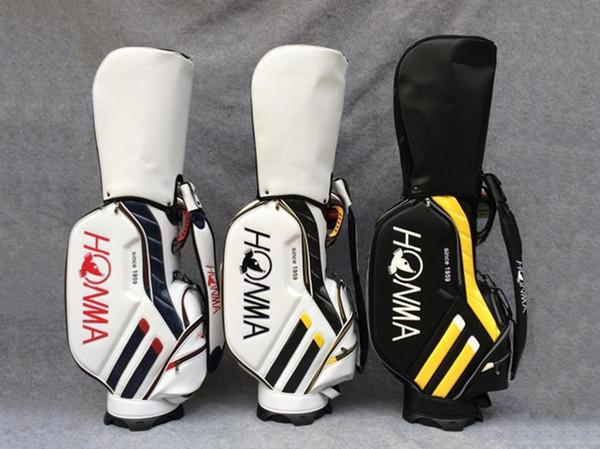 top popular Brand New Honma Golf Standard Bag 3 Colors Golf Bag Honma Golf Clubs Bag EMS Free Shipping 2019