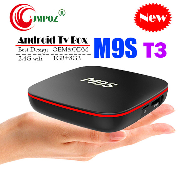 Best M9S T3 Allwinner H3 1G 8G Android 7.1 TV BOX Quad Core Ultra HD H.265 4K Stream Media Player Better Amlogic S905W H96 TX3 X96 H96 A95X