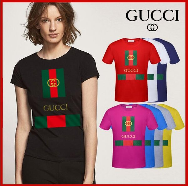 2019 Marchio italiano Ma'am Designer T Shirt Estate Tees Uomo Fashion Style Tee Marca Tees Camicia donna vestiti.