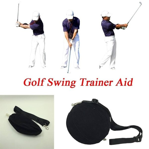 top popular Golf Swing Trainer Aid Assist Posture Correction Training Supplies smart inflatable ball Golf Swing Trainer Aid Assist Posture Correction 2019