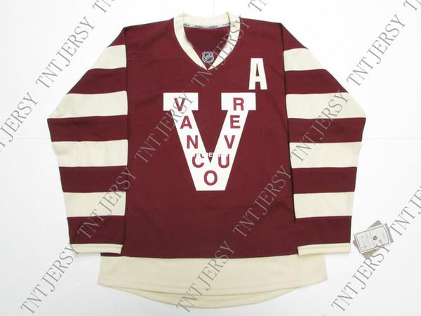 Günstige benutzerdefinierte DANIEL SEDIN VANCOUVER CANUCKS MILLIONAIRES PREMIER HOCKEY JERSEY-Stich hinzufügen beliebig viele Namen Herren Hockey Jersey XS-5XL