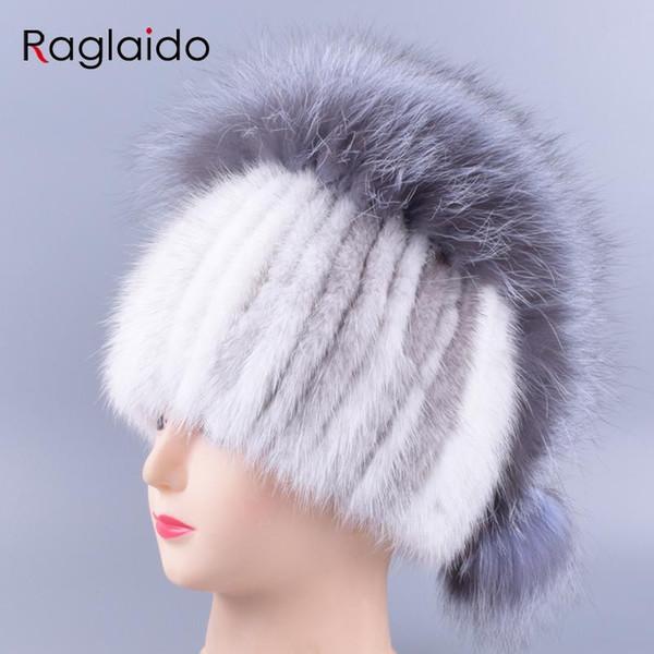 chapéus Raglaido de Inverno para mulheres pompom bola chapéu de malha de alta qualidade mulher elegante gorro de esqui chapéus tampas LQ11270