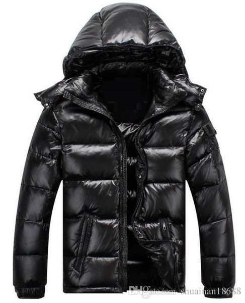 France Men Homme Down Jacket MAYA Goose Down Coats Mens Outdoor Hooded Collar Warm Feather Homme Winter Coat Outwear Jackets Parka
