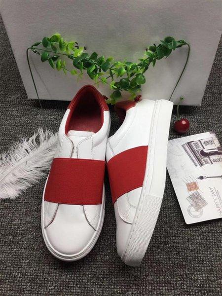 bianco (cinturino rosso)