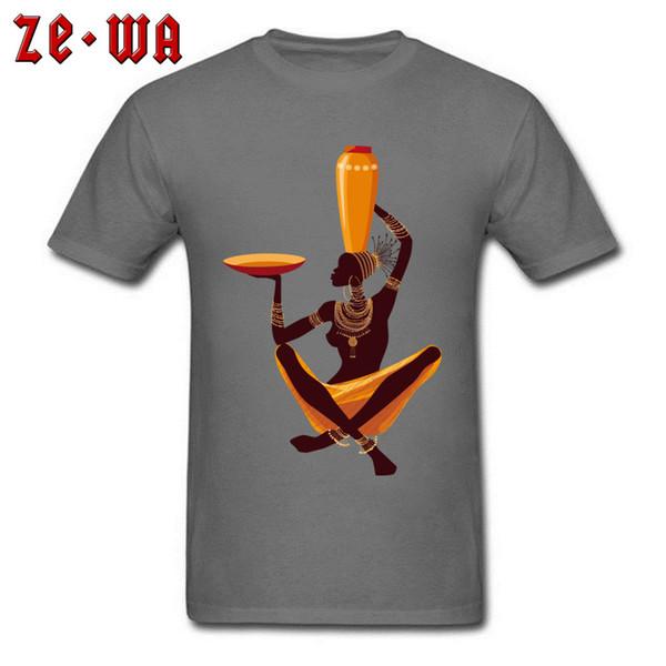 African Art T-shirt Men Cotton Tshirt Woman Painting Design Tops Exquisite Mens Summer Clothes Custom Tee Shirts Discount