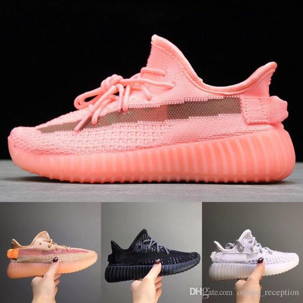 Kids Shoes350 Кроссовки Baby Boy Girl Clay Static Kanye West Beluga 2.0 Кроссовки для Малышей Высокого Качества Детская Спортивная Спортивная Обувь