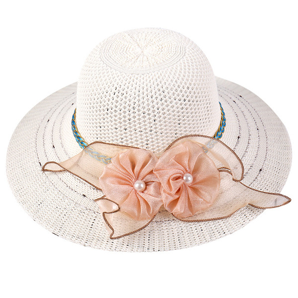 fc971904f Sun Hat UV Protection Panama Cap Summer Travel Holiday Straw Hat Women Big  Wide Brim Beach Cap Foldable Leisure Beach Summer Hat Straw Cowboy Hats ...