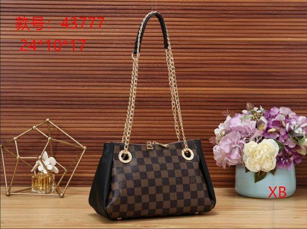 2019 brand designer women's fashion handbags ladies PU leather handbags brand wallet purse handbags shoulder bag Drop shipping B012