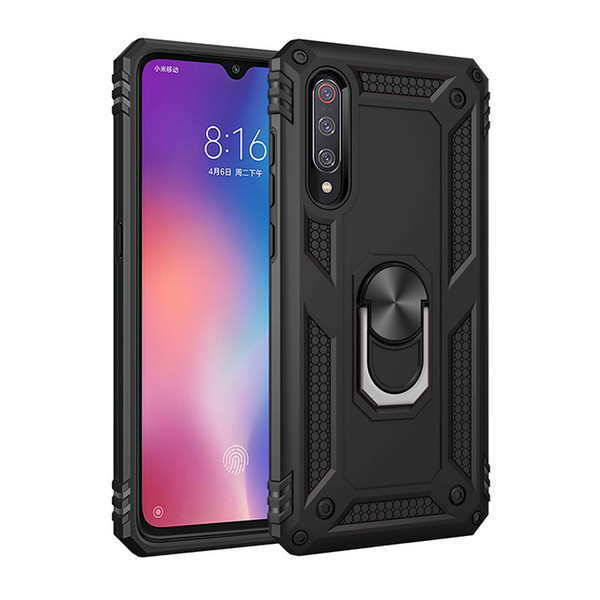 Luxury phone Case For Samsung galaxy A50 J5 J7 J4 A6 A7 A8 A30 A70 M10 M20 Armor Magnetic Holder Ring Cover