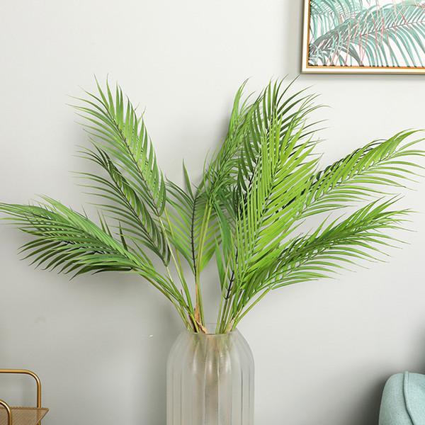 Pianta verde artificiale Foglia di cocco Palme artificiali per la casa Decorazione del giardino di nozze Piante finte Piante domestiche Bonsai