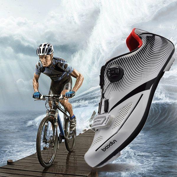 Bisiklet Ayakkabı erkekler Nefes Yumuşak Mtb Ayakkabı Erkekler Bisiklet Kendinden kilitleme spor Dağ Bisikleti Yeni