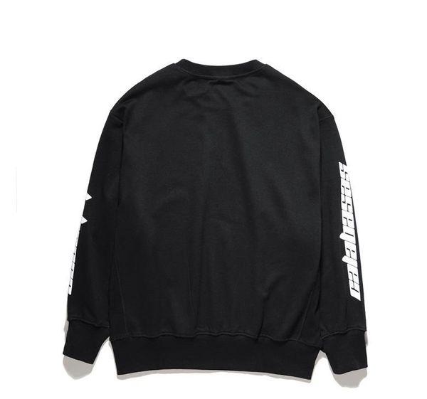 2017 new FOG SEASON Sweatshirts simple solid men s Hoodies oversize drooping shoulders men s tops