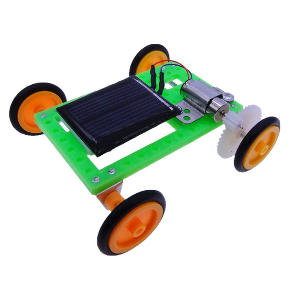 Solar Elven Car Solar Car Technology Production Primary and Secondary Science Puzzle Collection Toy Model