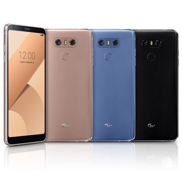 Original recondicionado lg g6 plus g6 + h870su dual sim 4g lte 5.7 polegada quad core 4 gb de ram 128 gb rom desbloqueado android telefone inteligente livre dhl 1 pcs