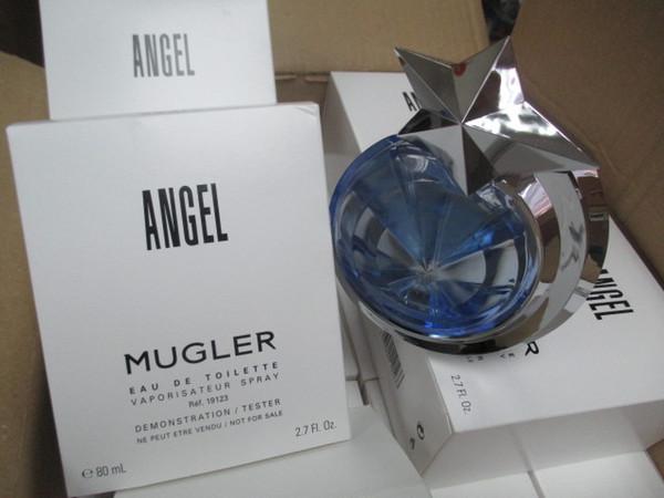 HOT Sealed 80ML Angel Perfume EAU DE TOILETTE Vaporisateur Spray For Women Pefect Scents Free shipping long lasting time