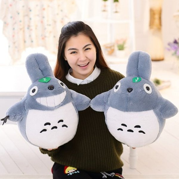 Cartoon Stuffed Animal 40cm Staffed Totoro Plush Toys Famous Cartoon Toys Brinquedos Dolls High Quality Dolls Factory Price
