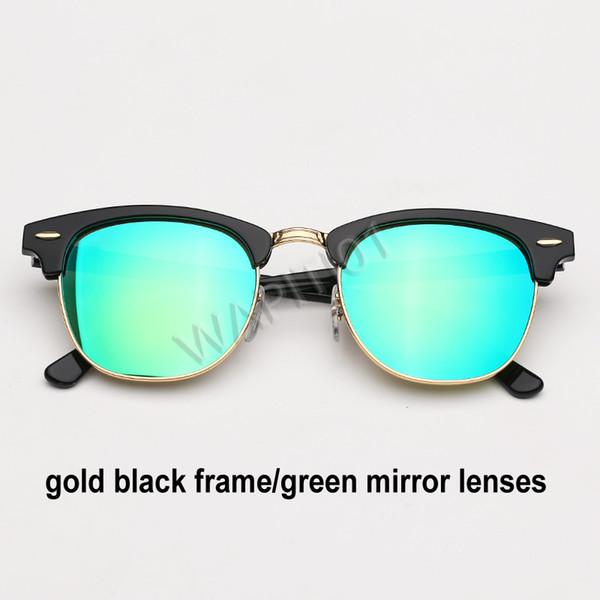 الذهب الأسود والأخضر مرآة