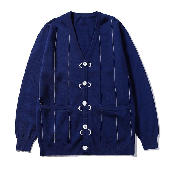 Clássico camisola Marca de luxo Mens camisola das mulheres Hoodies Designer Carta Stiche mangas compridas Único Breasted Hiphop Rua B101107L Casual