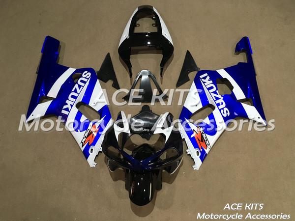New Hot ABS Plastic motorbike Fairing Kits 100% Fit For suzuki GSXR600 GSXR750 2001 2002 2003 GSXR600 GSXR750 01 02 03 Various colours NO.F1