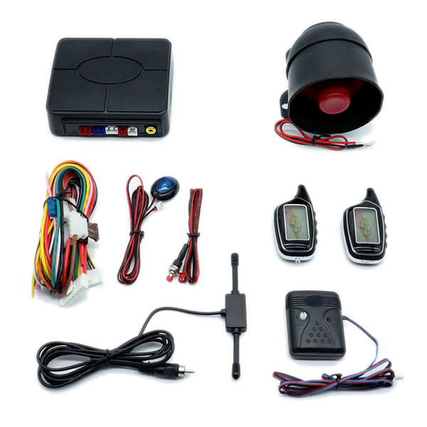 CarBest TWO-WAY LCD VEHICLE SECURITY AND ENGINE STARTER SYSTEM car alarm CARVOXX NEW-A