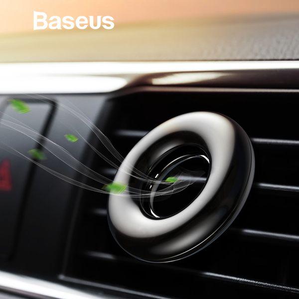 Aromaterapia Titular de teléfono para el coche Ambientador Perfume Baseus para auto Aire Vent Purificador de aire Fragancia Clip Difusor Perfume sólido