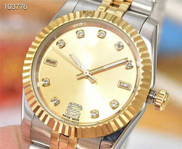 Nuevo reloj de lujo 103776 Relojes mecánicos automáticos 38 mm espejo de cristal mineral elegantes relojes para hombre Caja de acero inoxidable