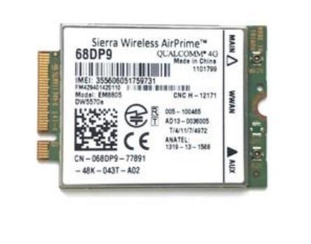 best selling original 4G WWAN Card EM8805 DW5570e CN-68DP9 SKU 1101799