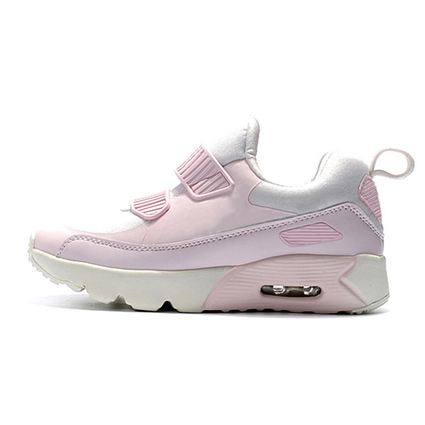 2019 new kids designer shoes baby 90 II shoe Sports Orthopedic Youth Kids trainers Infant Girls Boys high quality running shoes 10 Colors