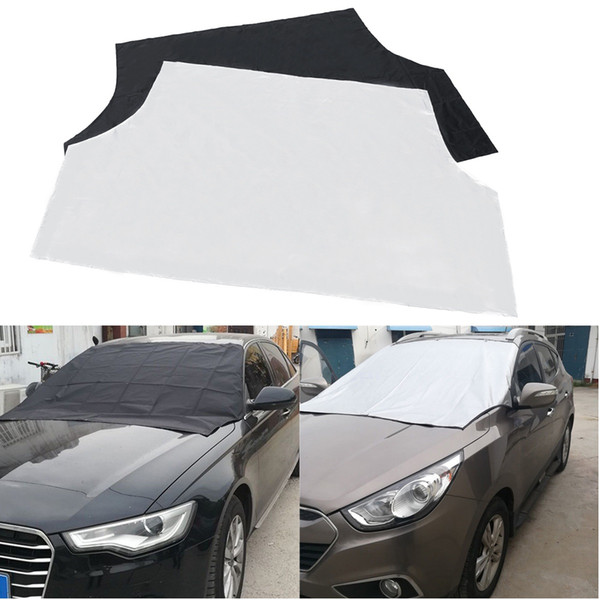 top popular Car Magnet Windscreen Windshield Cover Sun Sunshade Covers Snow Ice Frost Protection Outdoor Protector 2020