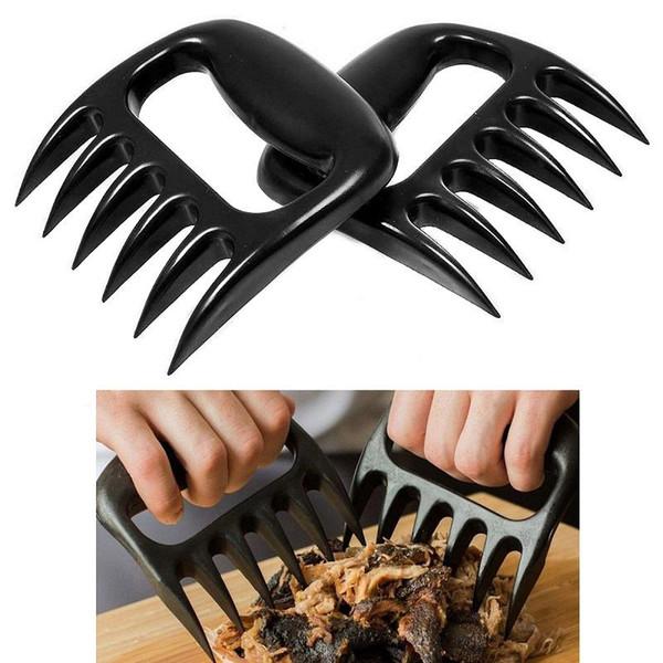 1 STÜCK BBQ Bärentatzen Krallen Fleisch Behandler Gabel Zange Pull Shred Schweinefleisch BBQ Shredder VHE76 P50