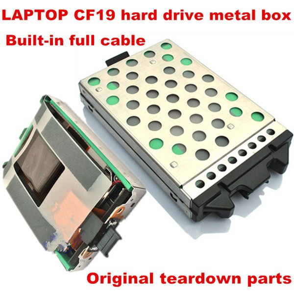 Laptop cf19 hard disk drive SATA HDD Caddy Toughbook CF-19 CF 19 CF19 SATA HDD Hard Disk Drive Case Caddy with Cable Adapter