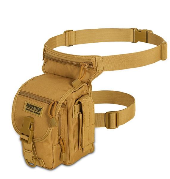 Seibertron Waist Bags Waterproof MOLLE Tactical Waist Bags Pocket Leg Bag Cross Over Leg Waistpacks Cycling Outdoor Bags