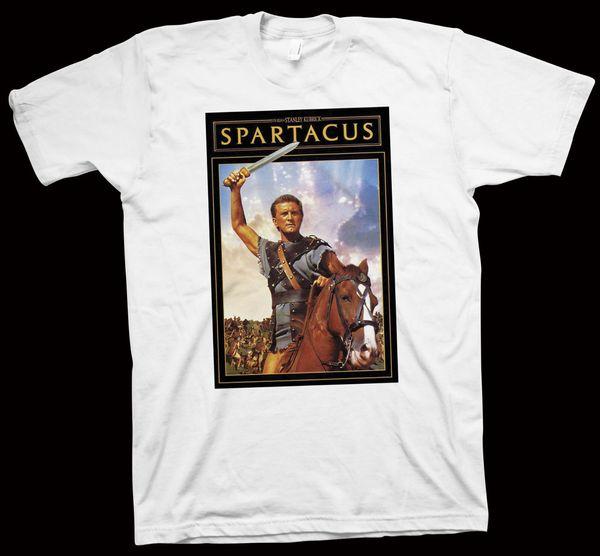 Spartacus Tişört Stanley Kubrick, Kirk Douglas, Laurence Olivier, Film, Sinema renk forması Baskı t shirt